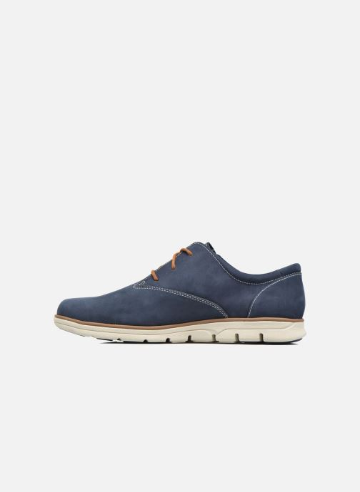Zapatos con cordones Timberland Bradstreet PT Oxford Negro vista de frente