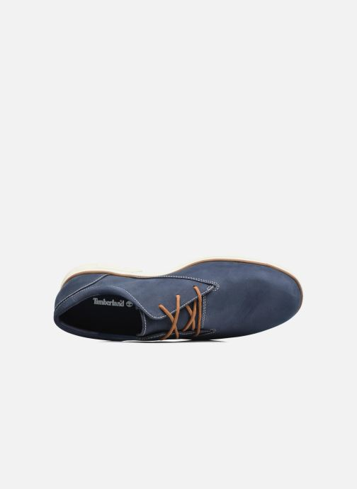 Lace-up shoes Timberland Bradstreet PT Oxford Black view from the left