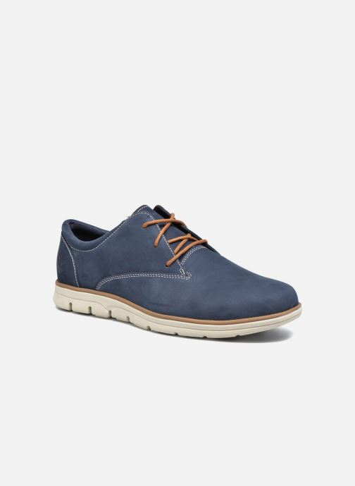 Lace-up shoes Timberland Bradstreet PT Oxford Black detailed view/ Pair view