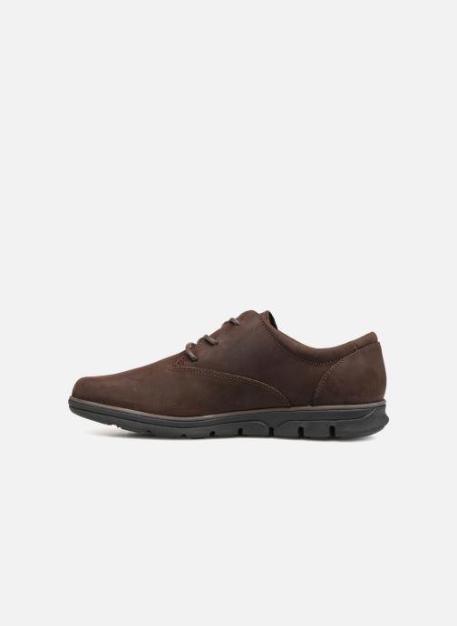 Zapatos con cordones Timberland Bradstreet PT Oxford Marrón vista de frente