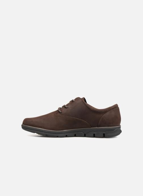 Chaussures à lacets Timberland Bradstreet PT Oxford Marron vue face