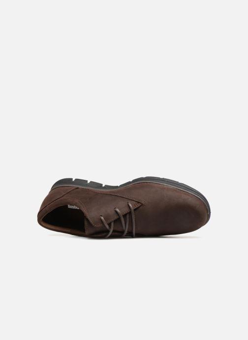 Zapatos con cordones Timberland Bradstreet PT Oxford Marrón vista lateral izquierda