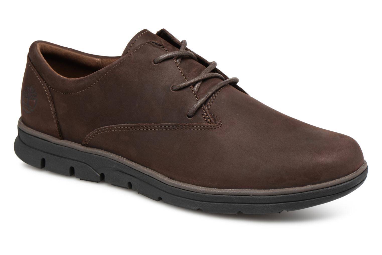 Chaussures à lacets Timberland Bradstreet PT Oxford Marron vue détail/paire