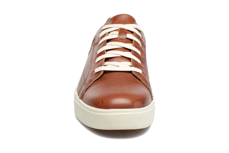 Baskets Timberland Amherst Oxford Marron vue portées chaussures