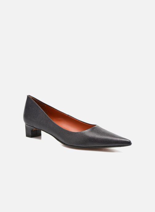 High heels Elizabeth Stuart Orthez 352 Blue detailed view/ Pair view