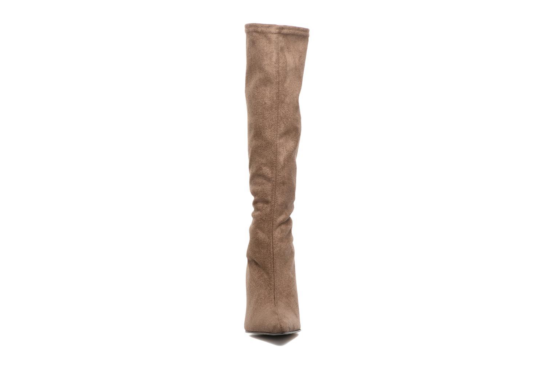 Bottes Elizabeth Stuart Lep 342 Beige vue portées chaussures
