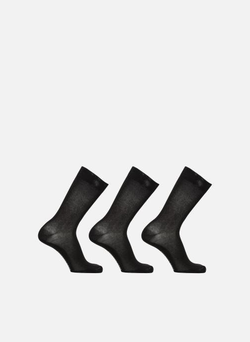 Strømper og tights Sarenza Wear Strømper 3-pak Sort detaljeret billede af skoene