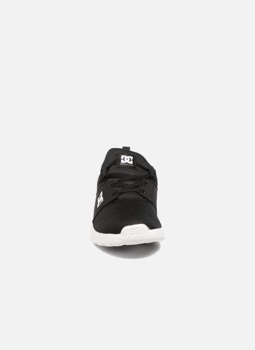 Baskets DC Shoes Heathrow Kids Noir vue portées chaussures