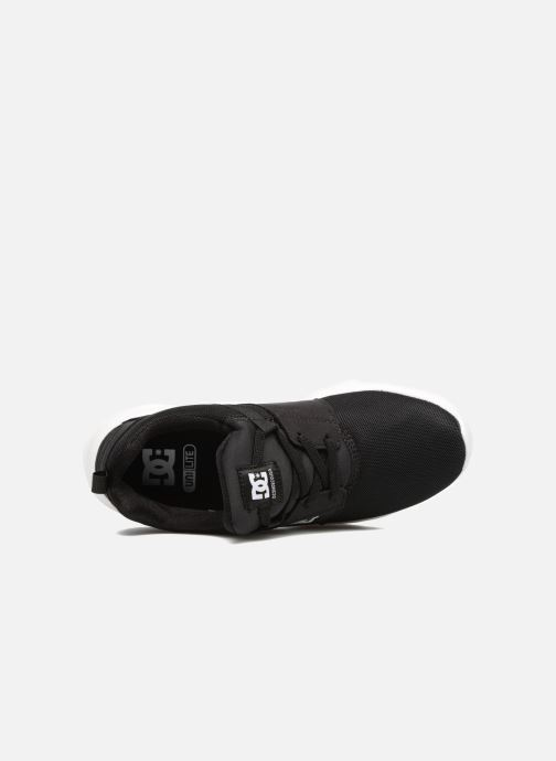 Baskets DC Shoes Heathrow Kids Noir vue gauche