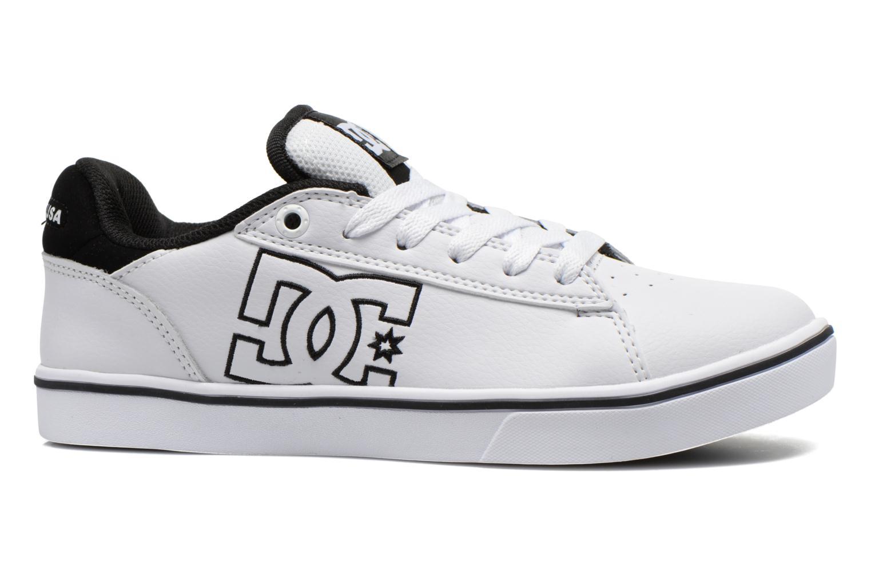 Baskets DC Shoes Notch B Blanc vue derrière