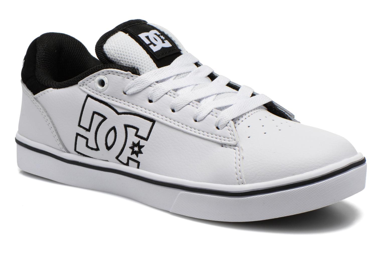 Baskets DC Shoes Notch B Blanc vue détail/paire