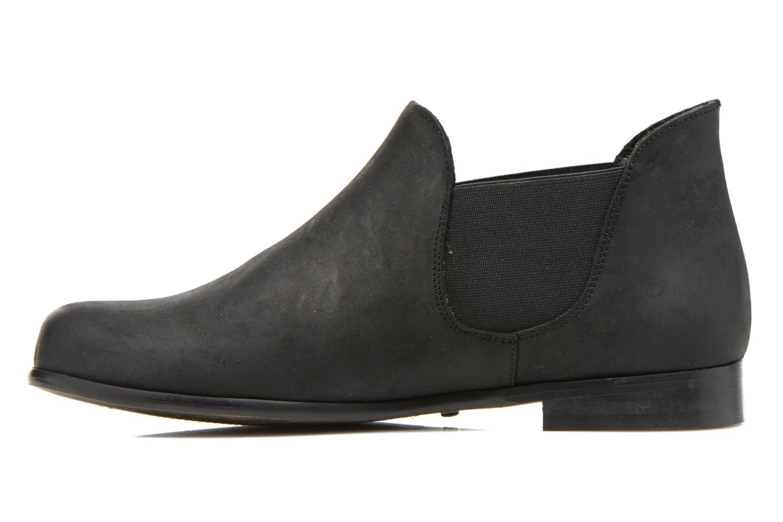 Bottines et boots Buffalo Léna Noir vue face