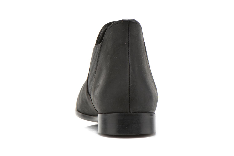 Bottines et boots Buffalo Léna Noir vue droite