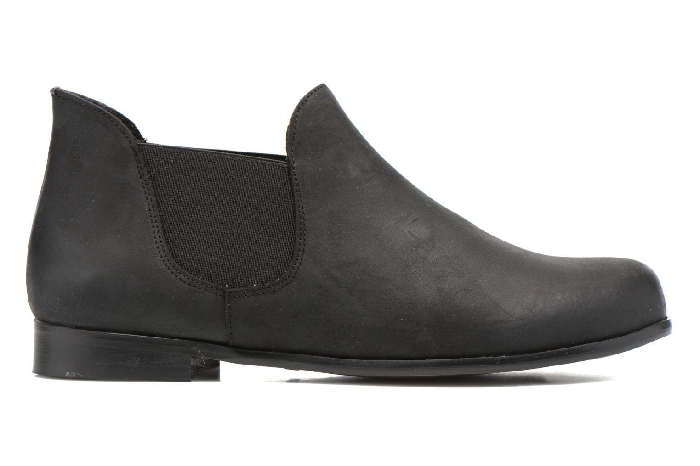 Bottines et boots Buffalo Léna Noir vue derrière