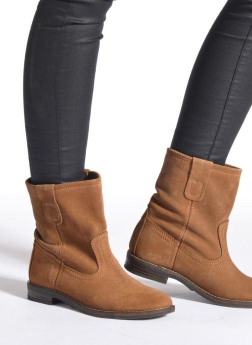 Stiefeletten & Boots Buffalo Lisa grün ansicht von unten / tasche getragen