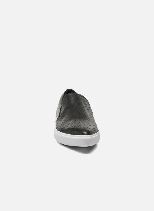 Slipper DKNY Trey schwarz schuhe getragen