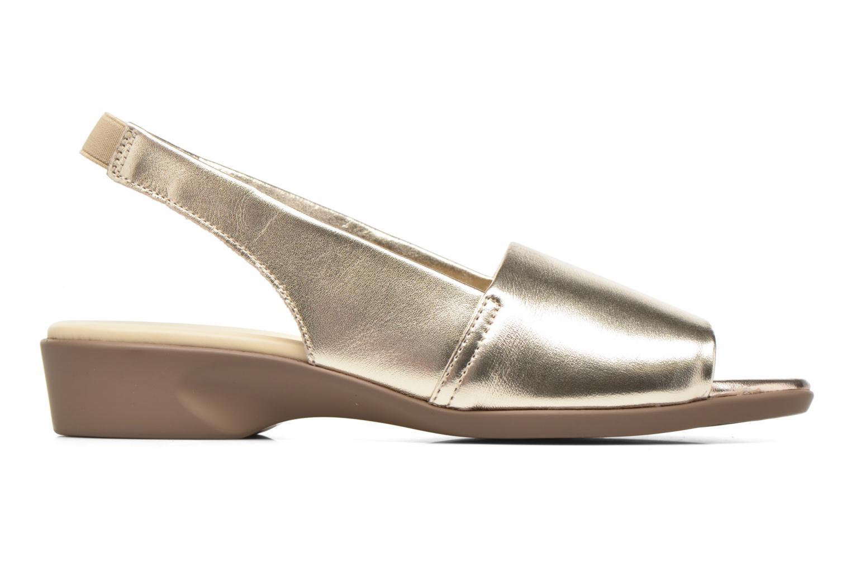 Sandales et nu-pieds Aerosoles Cush Flow Or et bronze vue derrière