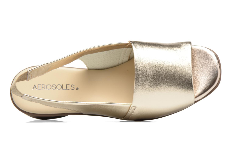 Sandales et nu-pieds Aerosoles Cush Flow Or et bronze vue gauche