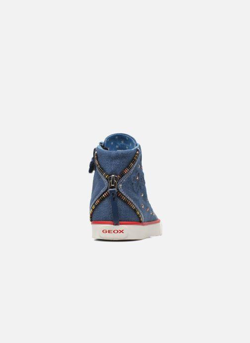 Sneakers Geox J Ciak G. B J6204B Azzurro immagine destra