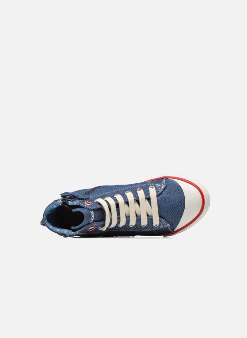 Sneakers Geox J Ciak G. B J6204B Azzurro immagine sinistra