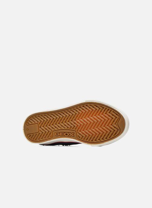 Sneakers Geox J Ciak G. B J6204B Azzurro immagine dall'alto