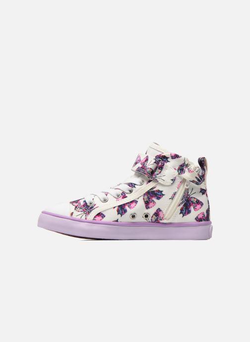 Sneakers Geox J Ciak G. C J6204C Viola immagine frontale