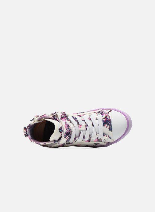 Sneakers Geox J Ciak G. C J6204C Viola immagine sinistra