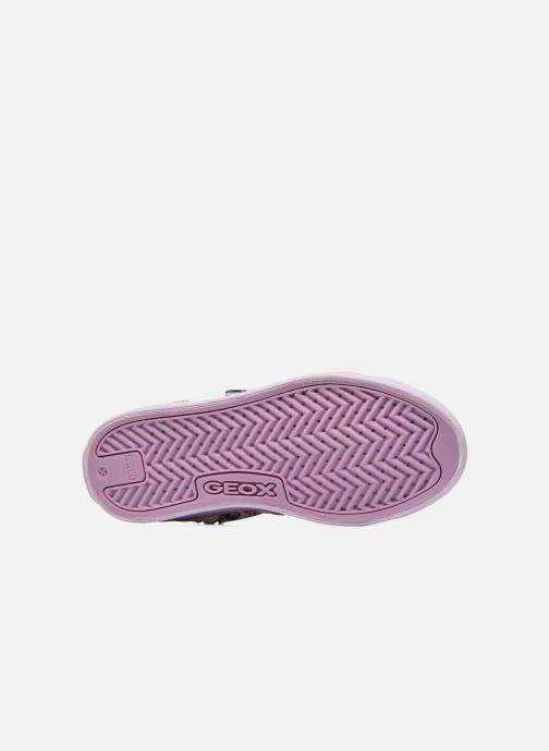 Sneakers Geox J Ciak G. C J6204C Viola immagine dall'alto