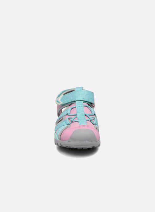 Sandales et nu-pieds Geox J Borealis G. B J620WB Bleu vue portées chaussures