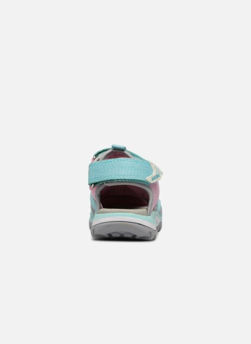 Sandals Geox J Borealis G. B J620WB Blue view from the right