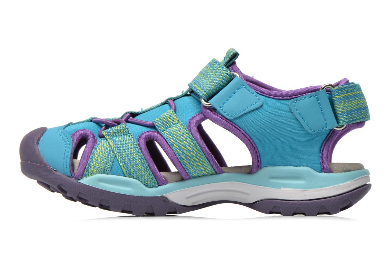 Sandals Geox J Borealis G. B J620WB Blue front view