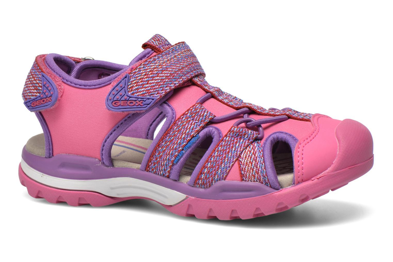 Sandali e scarpe aperte Geox J Borealis G. B J620WB Rosa vedi dettaglio/paio