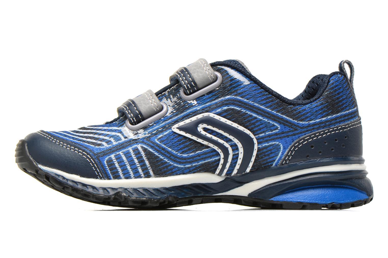 Sneakers Geox J Bernie B J6211B Azzurro immagine frontale