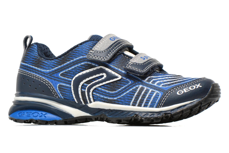 Sneakers Geox J Bernie B J6211B Azzurro immagine posteriore