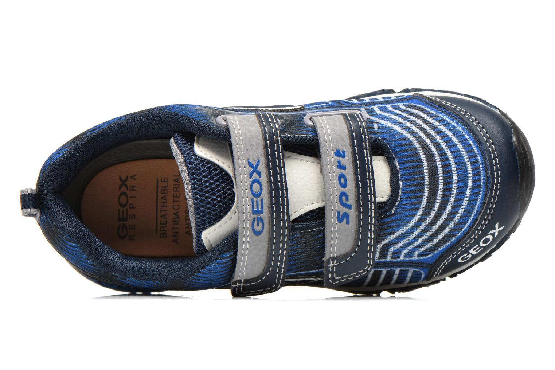 Sneakers Geox J Bernie B J6211B Azzurro immagine sinistra