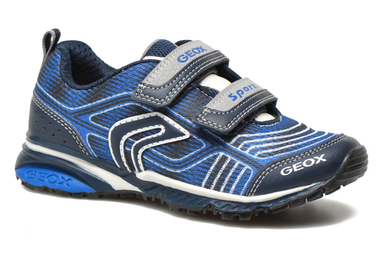 Sneakers Geox J Bernie B J6211B Azzurro vedi dettaglio/paio