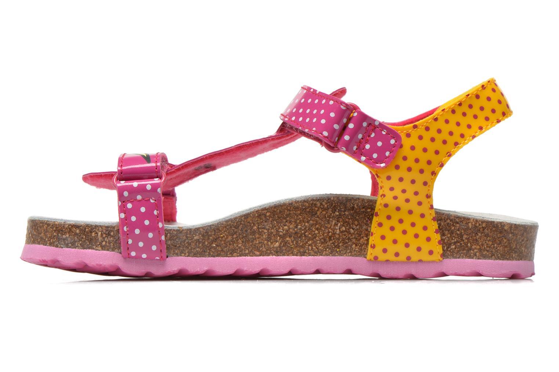 Sandali e scarpe aperte Geox J N.S.Aloha G. B J621CB Rosa immagine frontale