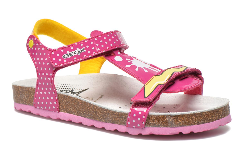 Sandali e scarpe aperte Geox J N.S.Aloha G. B J621CB Rosa vedi dettaglio/paio