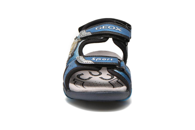 Sandales et nu-pieds Geox J Sand.Strike A J6224A Bleu vue portées chaussures