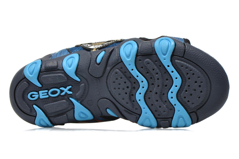 Sandales et nu-pieds Geox J Sand.Strike A J6224A Bleu vue haut