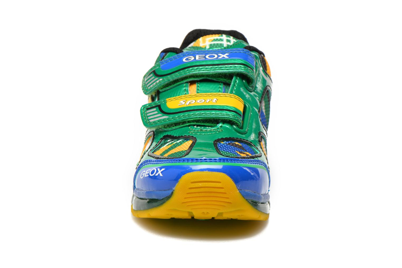 Baskets Geox J Android B. A J6244A Vert vue portées chaussures