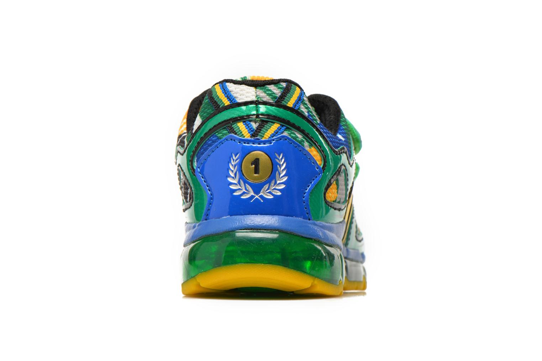 Baskets Geox J Android B. A J6244A Vert vue droite