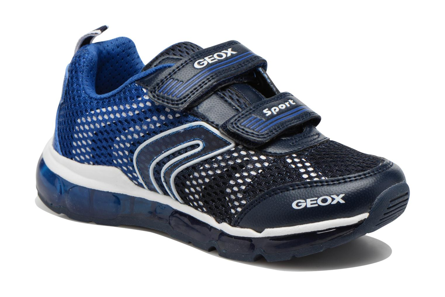 Sneakers Geox J Android B. C J6244C Blauw detail