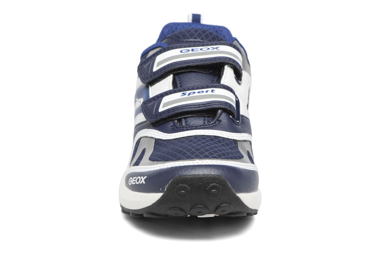 Baskets Geox J Asteroid B. B J6270B Bleu vue portées chaussures