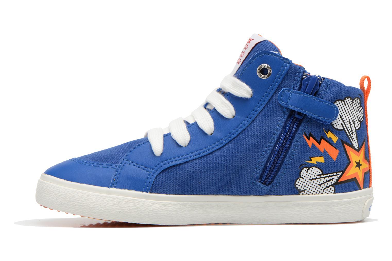 Sneakers Geox J Kiwi B. C J62A7C Azzurro immagine frontale