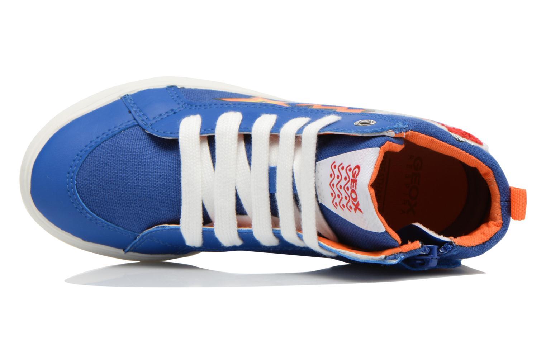 Sneakers Geox J Kiwi B. C J62A7C Azzurro immagine sinistra