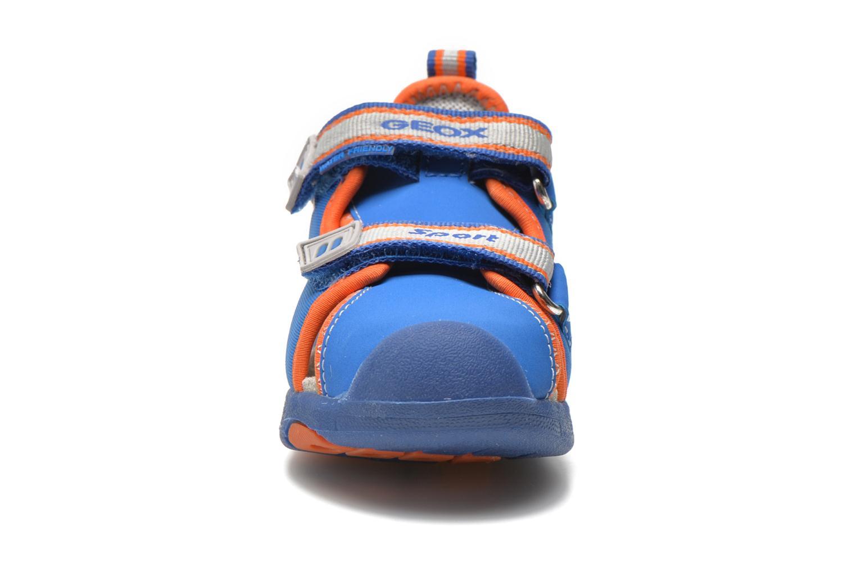 Sandali e scarpe aperte Geox B Sand.Multy B. B B620FB Azzurro modello indossato