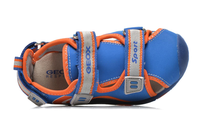 Sandali e scarpe aperte Geox B Sand.Multy B. B B620FB Azzurro immagine sinistra