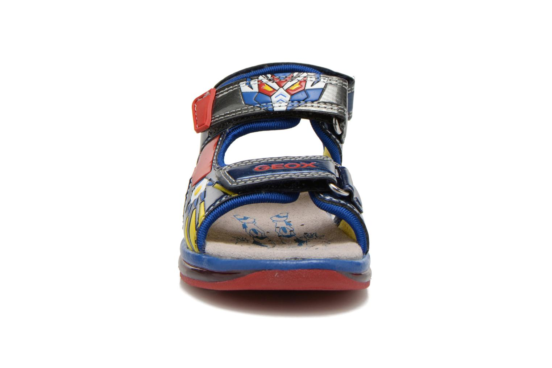 Sandales et nu-pieds Geox B Sand.Todo B. A B620GA Bleu vue portées chaussures