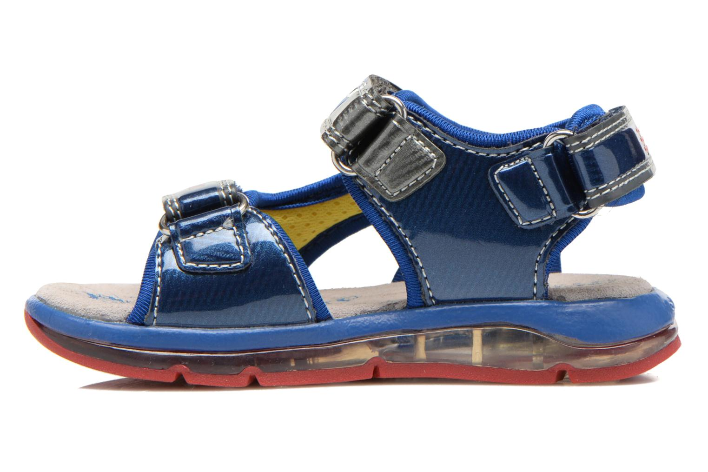 Sandales et nu-pieds Geox B Sand.Todo B. A B620GA Bleu vue face